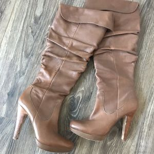 Jessica Simpson Over/Under the Knee Heeled Boots